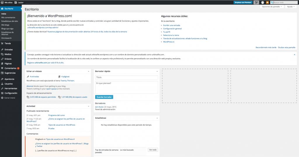 WordPress | WordPress de prueba | Página 2